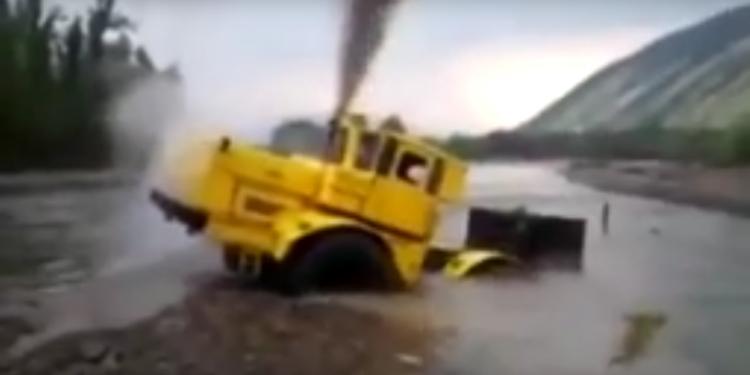 SinkingTractor