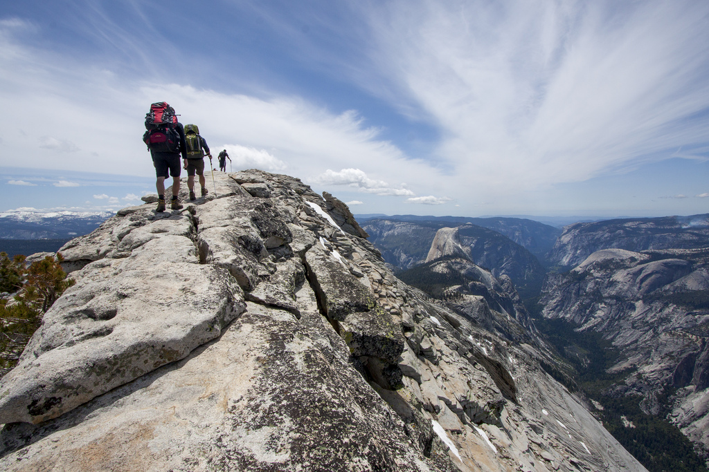 Hiking Clouds Rest, Yosemite National Park