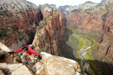 Hiking Angel's Landing, Zion National Park