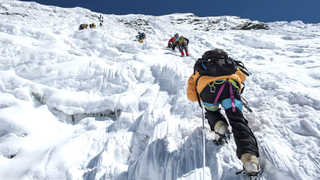 mountaineering patience