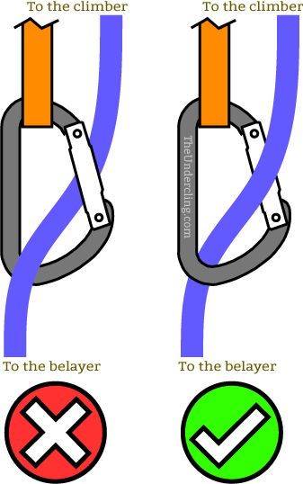 back clipping climbing mistakes