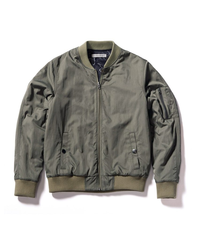 outerknown flight jacket