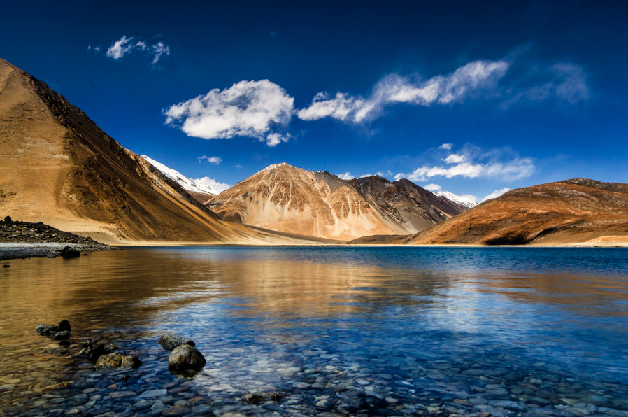 pangong tso lake india