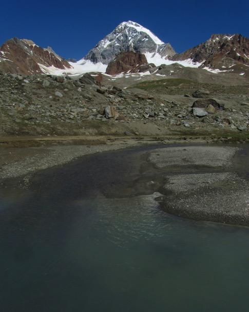 Gran Zebru from Val Cedec
