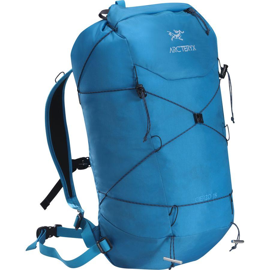 arcteryx cierzo18 backpack