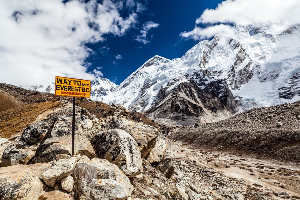 Nepal, Mt. Everest Base camp