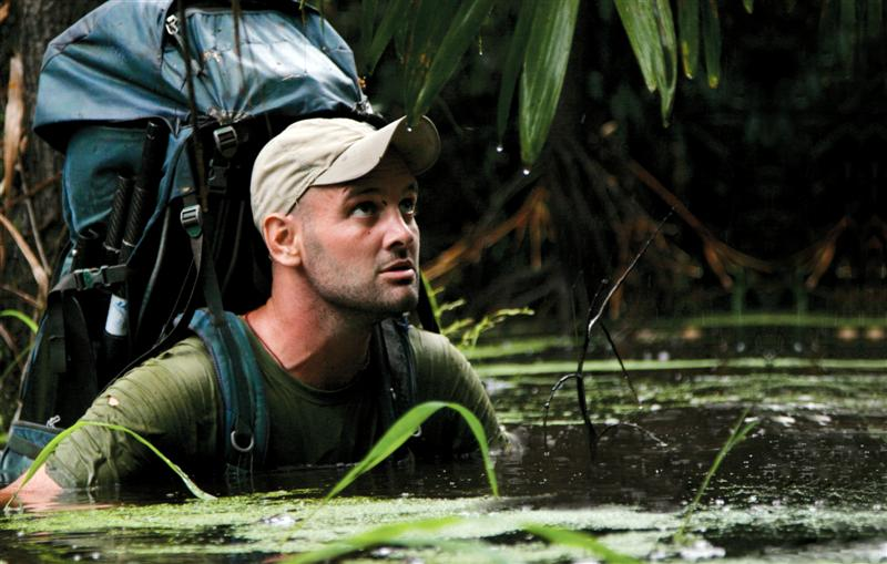 Ed Stafford. The first man to walk the Amazon river.