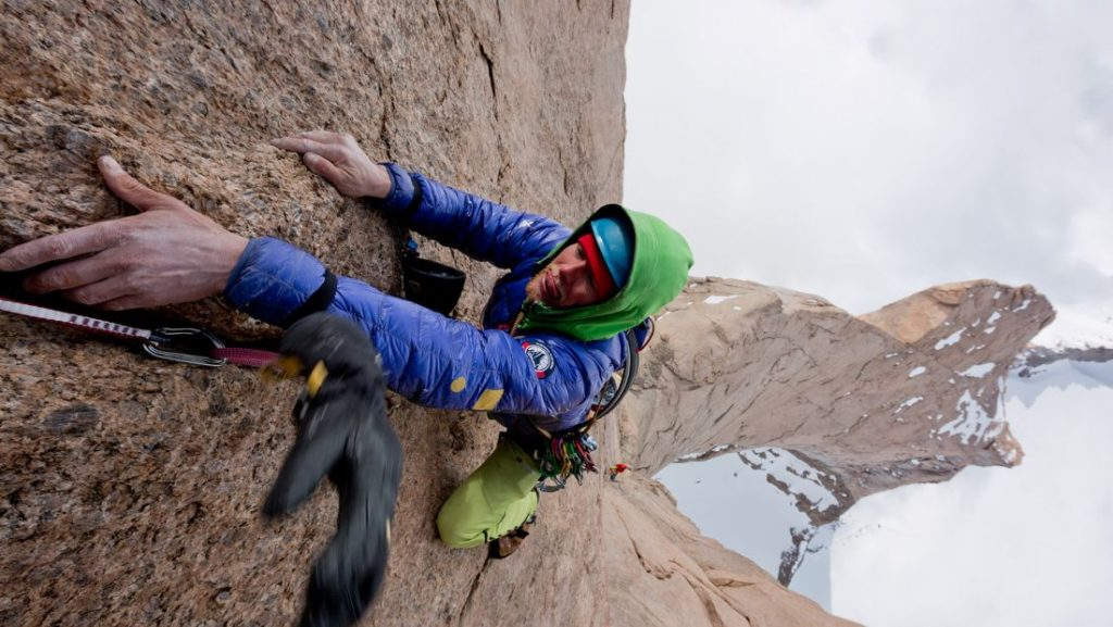 Leo Houlding backcountry adventurer
